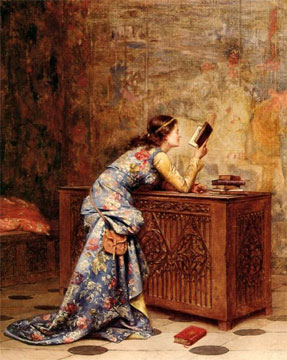 Adolphe Alexandre Lesrel Paintings
