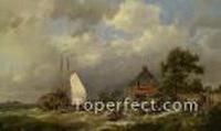 Hermanus Koekkoek Snr Paintings