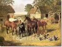 John Frederick Herring Jr Paintings