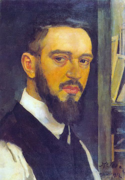 Konstantin Fyodorovich Yuon Paintings