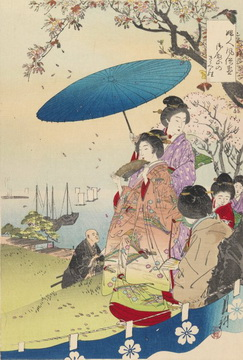 Ogata Gekko Paintings