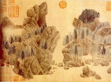 Qian Xuan Paintings