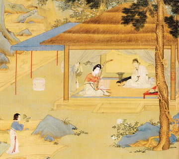 Qiu Ying Paintings
