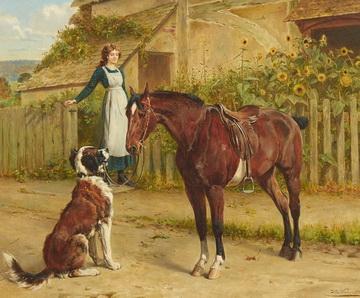 Samuel Edmund Waller Paintings