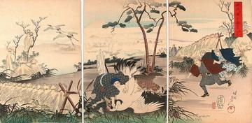 Toyohara Chikanobu Paintings