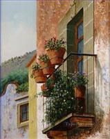 European Towns Paintings