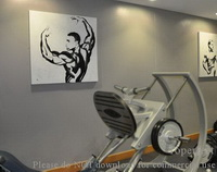 Gymnasium Decor Art