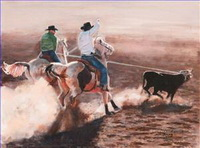Indiana Cowboy Paintings