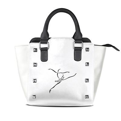 Customized Leather Handbag in Art Paintings