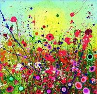 Modern Decor Flowers Paintings