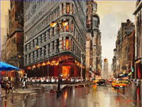 Other Urban Cityscapes Paintings