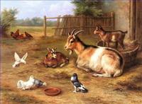 Sheep Shepherd Paintings