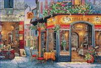 Street Shops Paintings