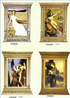 Wood Carving Frame Paintings