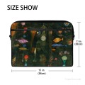 Personalized Laptop Bag Briefcase in Classic Artworks painting Fish Magic by Paul Klee USD18 2