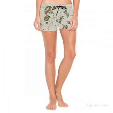 Personalized Clothing in Art Painting - Personalized Boardshorts female in abstract painting USD13 1