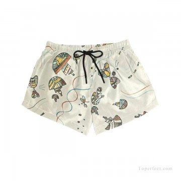 Personalized Clothing in Art Painting - Personalized Boardshorts female in abstract painting USD13 4