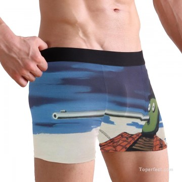 Personalized Clothing in Art Painting - Personalized Boxer shorts in Pinocchio USD10 1