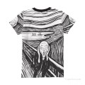Personalized T shirts female in The Scream USD13 4