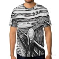 Personalized T shirts male in The Scream USD13 1