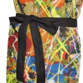 Personalized Kitchen Apron Adjustable Bib with 2 Pockets Adult Gown or Chef Overalls Cooking American Abstract Expressionis USD13 3