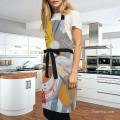 Personalized Kitchen Apron Adjustable Bib with 2 Pockets Adult Gown or Chef Overalls for Cooking abstract painting by Kandinsky USD13 5