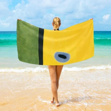 Personalized Beach Towel Large Oversized Blankets for Travel Yoga Mats Dadaism The Lark Wing USD27 3 Oil Paintings