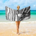 Personalized Beach Towel Large Oversized Blankets for Travel Yoga Mats The Scream By Edvard Munch USD27 3