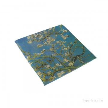 Frame Painting - Personalized Chair Pads Seat Cushion for Home Office Dinning Indoor Outdoor Almond Blossom by van Gogh USD13 1 2