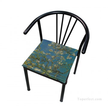 Frame Painting - Personalized Chair Pads Seat Cushion for Home Office Dinning Indoor Outdoor Almond Blossom by van Gogh USD13 1 4