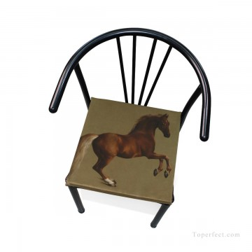 horse racing Painting - Personalized Chair Pads Seat Cushion for Home Office Dinning Indoor Outdoor British horse USD13 6 4