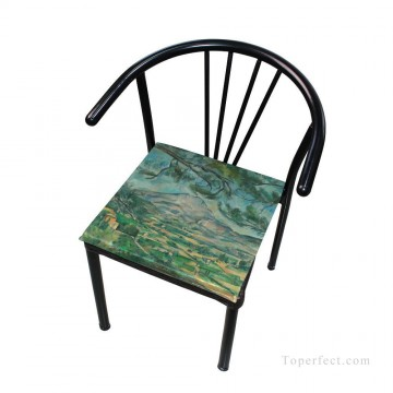 Frame Painting - Personalized Chair Pads Seat Cushion for Home Office Dinning Indoor Outdoor Cezanne Landscape USD13 8 4