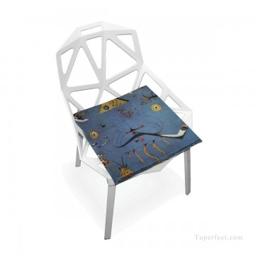Frame Painting - Personalized Chair Pads Seat Cushion for Home Office Dinning Indoor Outdoor Dadaism Catalan Landscape USD13 7 3