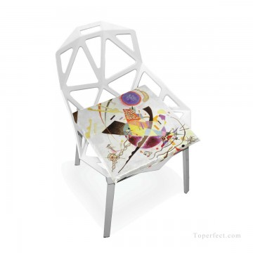 Frame Painting - Personalized Chair Pads Seat Cushion for Home Office Dinning Indoor Outdoor Expressionism USD13 5 3