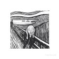 Personalized Chair Pads Seat Cushion for Home Office Dinning Indoor Outdoor The Scream by Edvard Munch USD13 2 1
