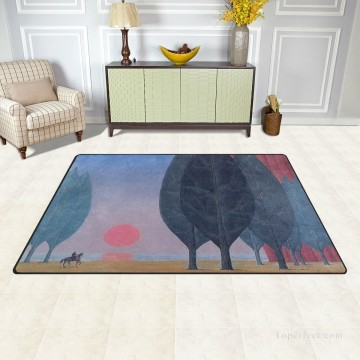 photorealism realism Painting - Personalized Floor Mat Non slip Doormat Anti Slip Office Entrance Pad Belgian Surrealism USD12 USD52 11 3