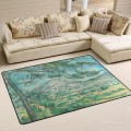 Personalized Floor Mat Non slip Doormat Anti Slip Office Entrance Pad Post Impressionism Landscape USD12 USD52 10 2