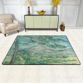 Personalized Floor Mat Non slip Doormat Anti Slip Office Entrance Pad Post Impressionism Landscape USD12 USD52 10 3