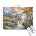 Personalized Mousepad Mouse Mat Non Slip Rubber Base for Laptop Computer PC Bambi First Year USD6 1