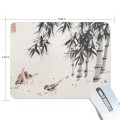 Personalized Mousepad Mouse Mat Non Slip Rubber Base for Laptop Computer PC Chicken Under Bamboo USD6 1