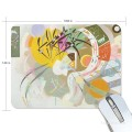 Personalized Mousepad Mouse Mat Non Slip Rubber Base for Laptop Computer PC Dominant Curve by Kandinsky USD6 1