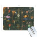 Personalized Mousepad Mouse Mat Non Slip Rubber Base for Laptop Computer PC Fish Magic by Paul Klee USD6 1