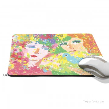Frame Painting - Personalized Mousepad Mouse Mat Non Slip Rubber Base for Laptop Computer PC Suddenly Spring Again USD6 2