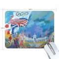 Personalized Mousepad Mouse Mat Non Slip Rubber Base for Laptop Computer PC oil painting Olympic Game USD6 1