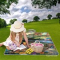 Personalized Portable Picnic Mat with Strap Handle Outdoor Picnic Cloth Rug Yoga Mat Alice in Wonderland USD27 3