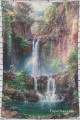 Personalized Tapestry for Bedroom Living Dining Room Dorm Wall Art Hanging Landscape Waterfall USD14 18 13 1