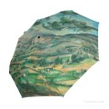 Personalized Automatic Umbrella Windproof Travel Post Impressionism landscape by Paul Cezanne USD19 3