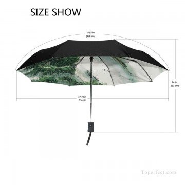 traditional Painting - Personalized Automatic Umbrella Windproof Travel traditional Chinese ink painting Suzhou Park USD19 2