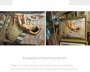 Examples of Reproductions by Professors Painting - Examples of Reproductions by Professors at Art Colleges 08