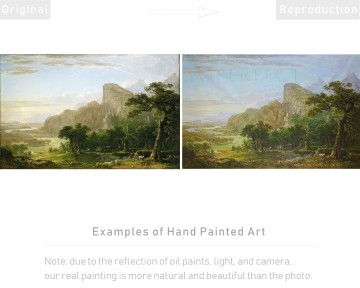 Examples of Reproductions by Professors at Art Colleges 11 Oil Paintings